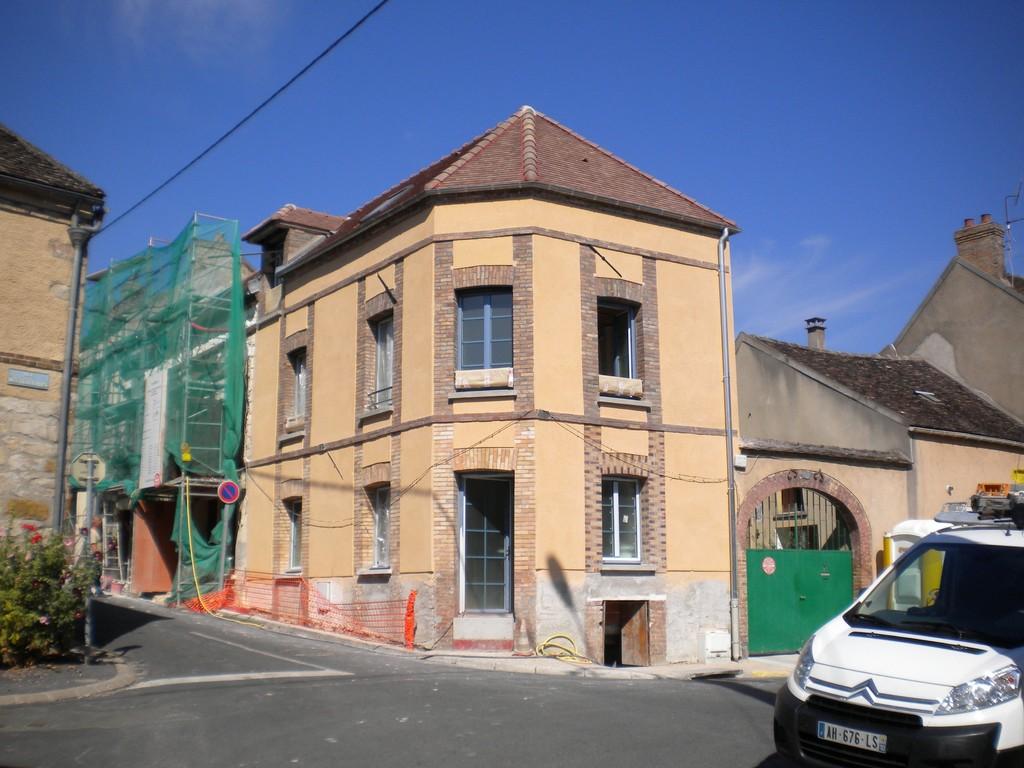R habilitation et extension d 39 un cabinet m dical pont for Extension maison yonne
