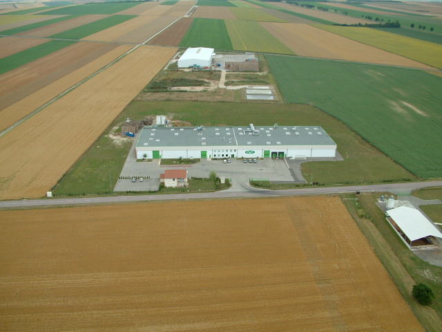 Construction d 39 une usine de traitement de pommes de terre arcis sur aube 10 architecte - Traitement pomme de terre ...