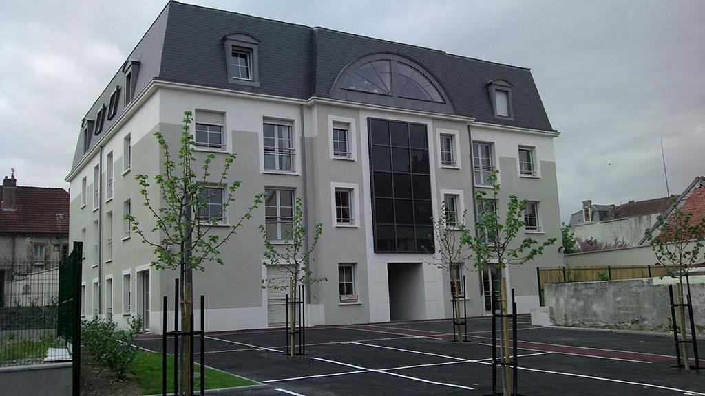Construction de 22 logements sociaux romilly sur seine for Maison romilly sur seine