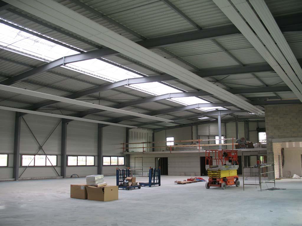 Construction d 39 une imprimerie architecte lenoir for Plans d imprimerie