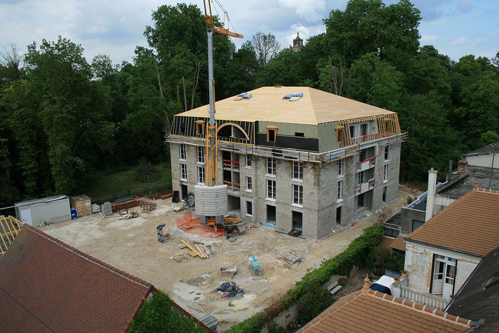 Construction de 24 logements sociaux et am nagement d 39 une grange en 2 log - Amenagement de grange ...